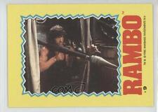 1985 Topps Rambo: First Blood Part II Stickers #9 Non-Sports Card 1i6