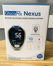 GlucoRx Nexus Blood Glucose Monitoring System