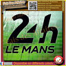Sticker autocollant 24 heures du mans 24h le mans decal rallye course automobile