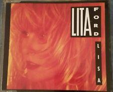 Lita Ford Lisa MCD  RARE 1990 RCA 3 tracks