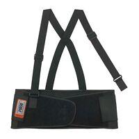 Ergodyne ProFlex 1650 Economy Elastic Back Support Belt, Black