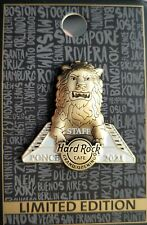 HARD ROCK CAFE PONCE **STAFF** GRAND OPENING PIN #2 WITH CARD NEW