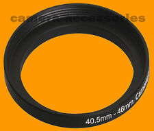 40.5mm to 46mm 40.5-46 Stepping Step Up Filter Ring Adapter 40.5mm-46mm (UK)
