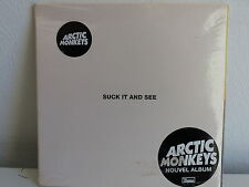 CD ALBUM ARCTIC MONKEYS Suckit and see 5034202025825