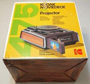 Kodak Moviedeck 475 Projector 8mm & Super 8 Film Movie Projector