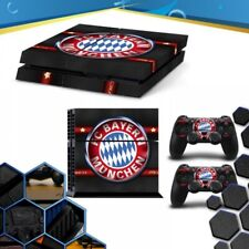Vinile Bayern Munich Playstation 4 Ps4 Skin Sticker Decal Console + Controllers