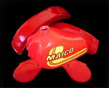 MAICO PLASTIC KIT + MOR TANK REAR FRONT SIDEPANEL SET 1981 MAICO 490 AHRMA