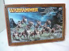 Warhammer CONDES VAMPIROS Dire Lobos 2007 Juegos taller en Caja