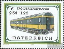 Österreich 2414 (kompl.Ausg.) postfrisch 2003 Bahnpostwagen
