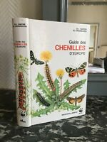 Carter Hargreaves GUIDE DES CHENILLES D'EUROPE Delachaux Niestlé 1988