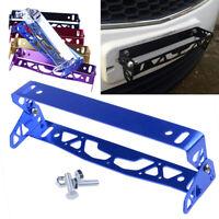 1 Pcs New Blue Car Number Frame Plate Aluminum Holder Licence Plate Frame Metal