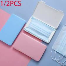 Portable Storage Case Face Mask Carry Box Sanitary Napkin Protective Holder