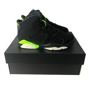 New Nike Air Jordan 6 'Electric Green' (PS) Size 11c 384666-003 *Free Ship*