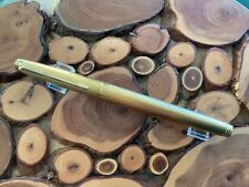Parker 75 Barleycorn Gold Plated fountain pen medium