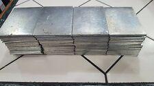 """Fabric Vertical Blind Weights - Galvanized Steel - 2 3/4"""" x 2"""""""