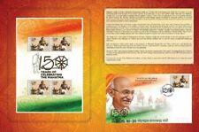 5X Stamp packs of Gandhi be released in Jakarta.