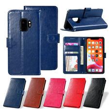 Flip Leather Case for Samsung galaxy S6 S7 Edge S8 S9 Plus S10e Note8 9 10 Cover