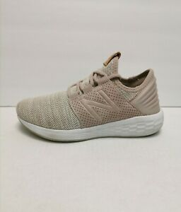 New Balance Fresh Foam Cruz V2 Knit Women's Size 6 M(B) Running Shoes Pink/White