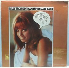 Billy Maxted's Manhattan Jazz Band ‎- Maxted Makes It LP Swing Jazz 1966 Liberty