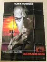 Clint Eastwood, Weisser Jäger, Schwarzes Herz  - Original Filmplakat A0