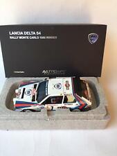 Autoart Lancia Delta S4 #7 Toivonen Martini winner Monte Carlo 1986 1/18 88617