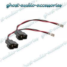 Pair of Speaker Connector Adaptor Lead Cable Plug for Mazda