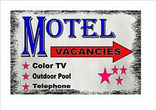 Vintage Style Hotel  Sign Motel Retro Style Sign Kitchen Sign Hotel Sign