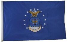 3x5 Embroidered Sewn US Air Force USAF (Double Sided) 2-ply 300D Nylon Flag