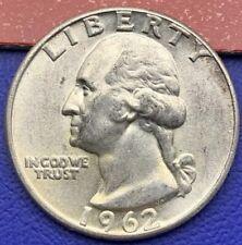 Etats-Unis Quarter Dollar Washington 1962, Pièce argent #1603