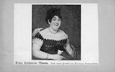 Wunderschönes altes CDV Porträt Lady Katharine Byron Thomas Stewardson