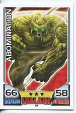 Marvel Hero Attax Series 1 Base Card #119 Abomination