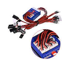 12 LED-Lampe Rücklicht Brake System Lighting Kit für TAMIYA 1/8 1/10 RC Truck
