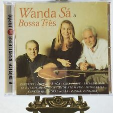 Wanda Sa & Bossa Tres CD Latin International Brazilian Traditions Bossa Nova