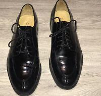 COLE HAAN Men Calhoun Split Toe Black  Oxford lace-Up Dress Shoes C00588 9.5D