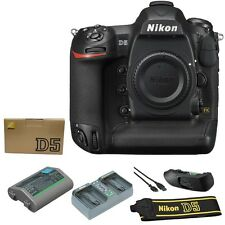 Nikon D5 DSLR Camera Body 20.8 MP (Dual XQD Slots, Black) - Summer Time Sale