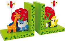 Buchstützen wilde Tiere Stützen Bücherhalterung Holzstützen Dekoration Geschenk