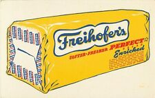 Freihofers Enriched Bread Ink Blotter Vintage Advertising