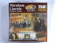 Abraham Lincoln Triumph & Tragedy 750 Piece Jigsaw Puzzle New Factory Sealed