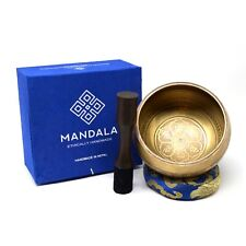 More details for tibetan mantra singing bowls for meditation, healing, yoga and sound therapy
