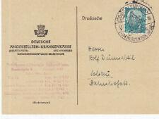 BRD Heuss Brief : Soltau 11.12.1954