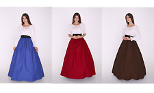 Civil War Victorian Renaissance Medieval Frontier Pioneer Dress Gown Costume
