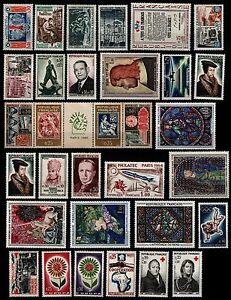 L'ANNÉE 1964 Complète, Neufs ** = Cote 47 €  / Lot Timbres France 1404 à 1434