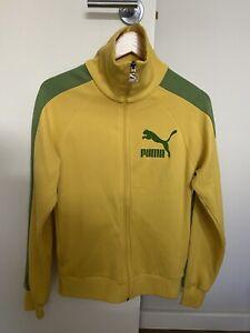 Puma Tracksuit Jacket Vintage Retro Casual Small