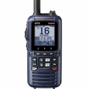Standard Horizon HX890 Handheld VHF - Navy Blue