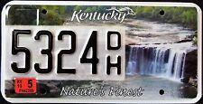 "KENTUCKY "" CUMBERLAND FALLS - NATURE`S FINEST SPIRIT KY Specialty License Plate"