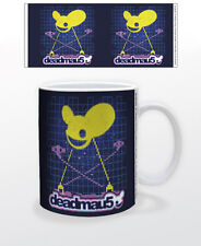DEADMAU5-INVADERS 11 OZ COFFEE MUG TEA CUP MUSIC DJ RECORD CANADA HOUSE MASKS!!!