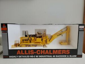 Allis Chalmers HD-3 W Industrial 60 Backhoe And Blade 1/16
