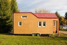 Rolling Tiny House - Ganzjahres-Minihaus auf PKW-Tandem-Trailer, 7,8 m Länge