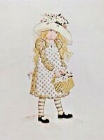 Bucilla Creative Needlecraft COUNTRY LASS Holly Hobbie Picture Wall Panel 2173