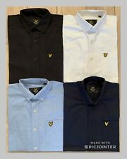 Lyle and Scott Poplin & Oxford Long Sleeve Men's Shirts